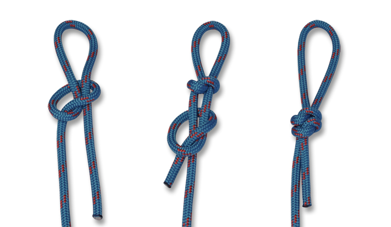 How to tie knots - Englishman's Loop