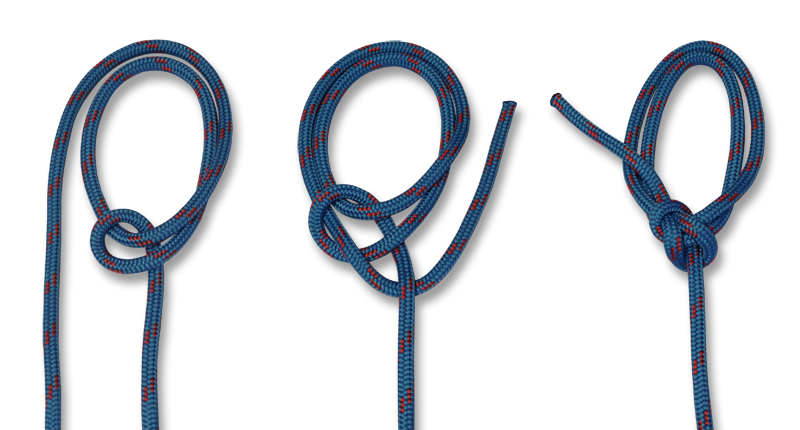 HOW TO TIE KNOTS - Portuguese Bowline