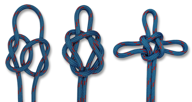 HOW TO TIE KNOTS - SAILOR'S CROSS