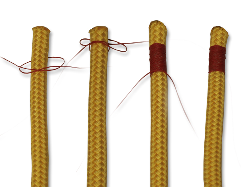 How to tie knots - rope care - west country whipping