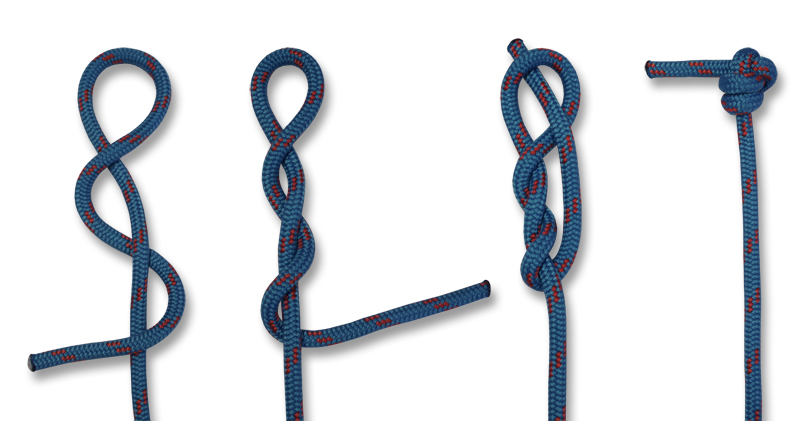 how to put tie knots