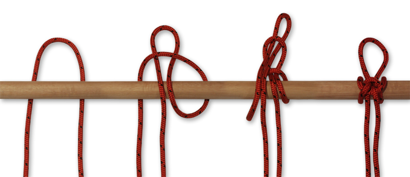 how to tie knots - highwaymans hitch