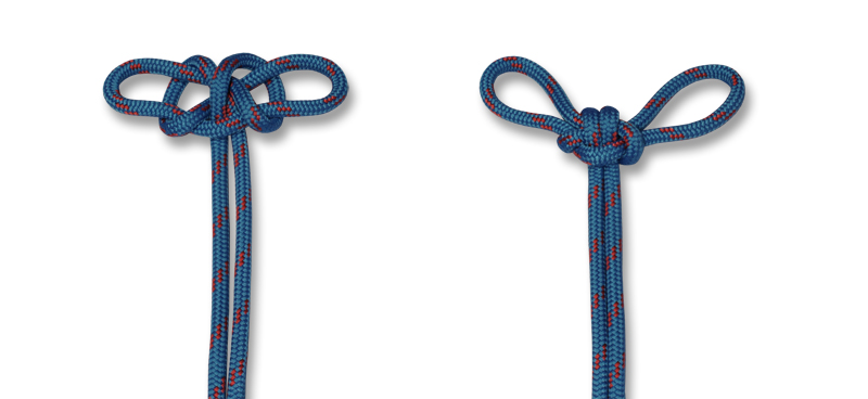 HOW TO TIE KNOTS - spanish bowline