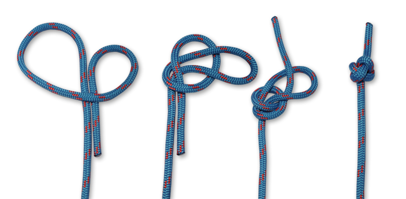 how to tie knots - oystermans stopper knot